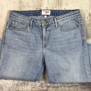 Frame cropped jeans